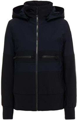 Fusalp Quilted Two-tone Hooded Ski Jacket