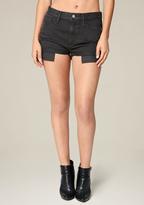 Bebe Black Cheeky Shorts