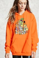 Forever 21 FOREVER 21+ Nickelodeon Graphic Hoodie