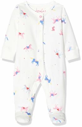 Joules Baby Girls' Razmataz Sleepsuit