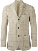 Lardini soft check blazer