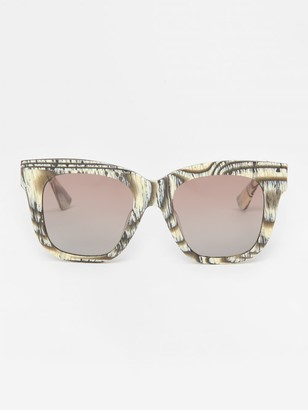 J.Mclaughlin Jaden Polarized Sunglasses in Horn