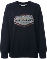 Each X Other 'Disappearance' sweatshirt