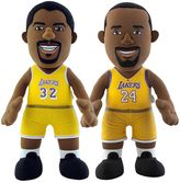 Bleacher Creatures Los Angeles Lakers Dynamic Duos Magic Johnson & Kobe Bryant Plush Figure Set