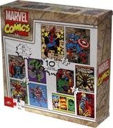 Marvel Comics Boys 10-Pack of Puzzles
