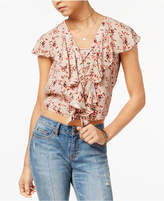 American Rag Juniors' Ruffled Crop Top, Created for Macy's