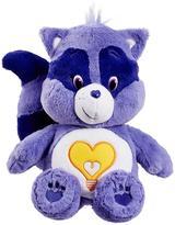 Care Bears Medium Plush With DVD Bright Heart Raccoon