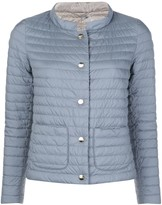 Herno collared padded jacket