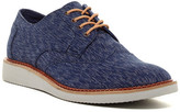 Toms Brogue Navy Textile Textured Lace-Up Shoe