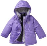 Osh Kosh Toddler Girl 4-in-1 Fleece-Lined Reversible Purple Systems Jacket