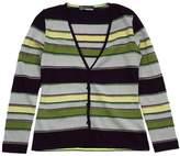 Missoni Grey, Yellow & Purple Striped Cardigan