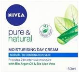 Nivea Pure & Natural Moisturising Cream: Normal/Combination