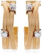 Marco Bicego Goa Strand Diamond Earrings, Yellow