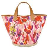Frida Signature Floral Bucket Bag