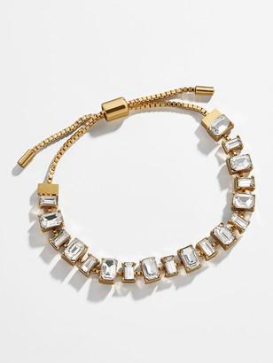 BaubleBar Belle Pull-Tie Bracelet-Clear