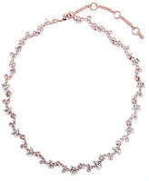 Givenchy Rose Gold Basics Collar Necklace