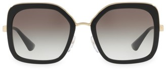 Prada Translucent Two Tone Sunglasses