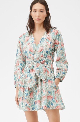 Rebecca Taylor La Vie Painted Garden Dress
