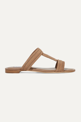 Tod's Suede Slides - Brown