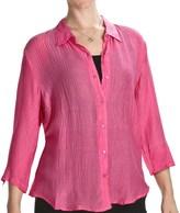Casual Studio Silk Blend Shirt (For Women)