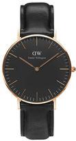 Daniel Wellington 36mm Classic Black Sheffield Watch