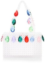 Susan Alexandra Spritz Applique Beaded Bag