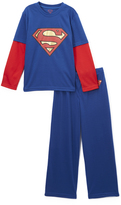 Intimo Blue Superman Pajama Set - Boys