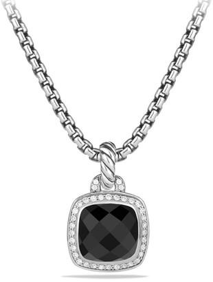 David Yurman Albion Pendant with Gemstone & Diamonds