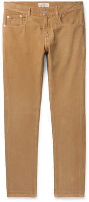 Belstaff Longton Slim-Fit Cotton-Corduroy Trousers