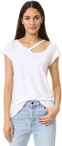 LnA Ripped Neck Tee