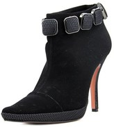 Les Tropéziennes Lubo 3 Pointed Toe Suede Ankle Boot.