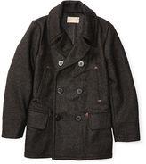 Ralph Lauren RRL Double-Faced Wool Pea Coat