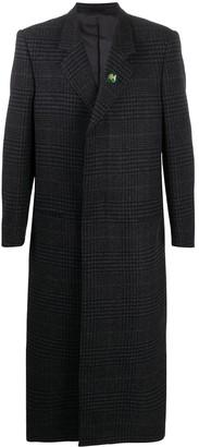Martine Rose Full-Length Single-Breasted Coat
