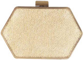 Zola Clutch in Gold Knit - by House of Harlow 1960 Handbags