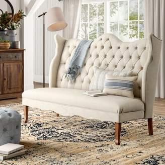 Birch Lane Janell Tufted Bedroom Upholstered Bench Heritage Upholstery: Beige