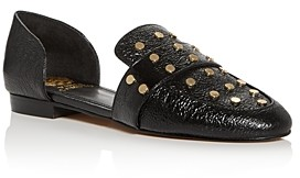 Vince Camuto Women's Wenerly Studded d'Orsay Flats