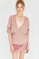 Silence & Noise Silence + Noise Cozy Surplice Sweater