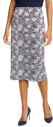 HUGO BOSS Vericana Embroidered Pencil Skirt
