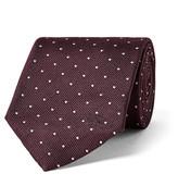 Burberry 7cm Polka-Dot Silk-Twill Tie