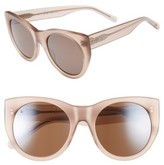 Raen Women's Durante 53Mm Retro Sunglasses - Flesh