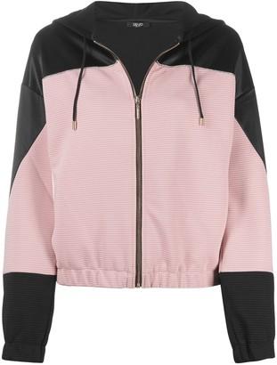 Liu Jo Colour Block Hooded Jacket