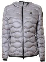 Blauer Women's Grey Polyamide Down Jacket.
