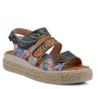 L'artiste By Spring Step Yahima Espadrille Platform Sandal