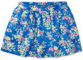 Ralph Lauren Floral-Print Skirt, Toddler & Little Girls (2T-6X)