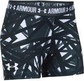 Under Armour HeatGear® Armour Printed Shorty Shorts, Big Girls (7-16)
