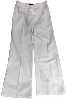 Trussardi White Trousers for Women