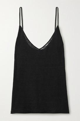Nili Lotan Kerry Linen Camisole - Black