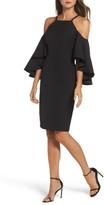 Vince Camuto Women's Laguna Cold Shoulder Sheath Dress