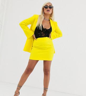 Asos DESIGN Petite pop suit mini skirt