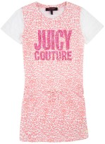 Juicy Couture Girls Knit Mini Tangier Leopard Dress